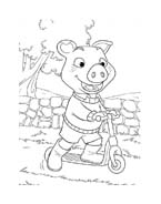 Le avventure di Piggley Winks da colorare 39