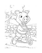 Le avventure di Piggley Winks da colorare 39