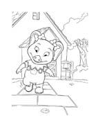 Le avventure di Piggley Winks da colorare 40