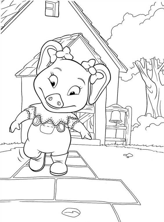 Piggly wiggly da colorare 40