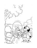 Le avventure di Piggley Winks da colorare 41