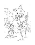 Le avventure di Piggley Winks da colorare 43