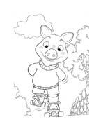 Le avventure di Piggley Winks da colorare 44