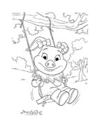 Le avventure di Piggley Winks da colorare 45