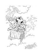 Le avventure di Piggley Winks da colorare 46