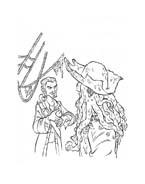 Pirati dei caraibi da colorare 43