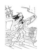 Pirati dei caraibi da colorare 44