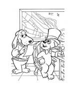 Pound puppies da colorare 5