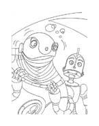 Robots da colorare 5