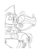 Robots da colorare 6