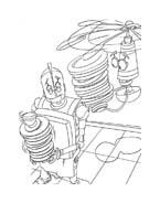 Robots da colorare 7