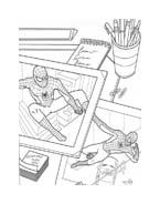 Spiderman da colorare 14