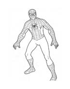 Spiderman da colorare 17