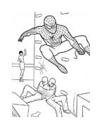 Spiderman da colorare 22