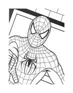 Spiderman da colorare 23