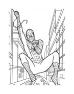Spiderman da colorare 24