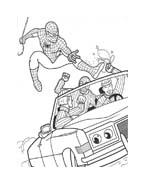 Spiderman da colorare 30