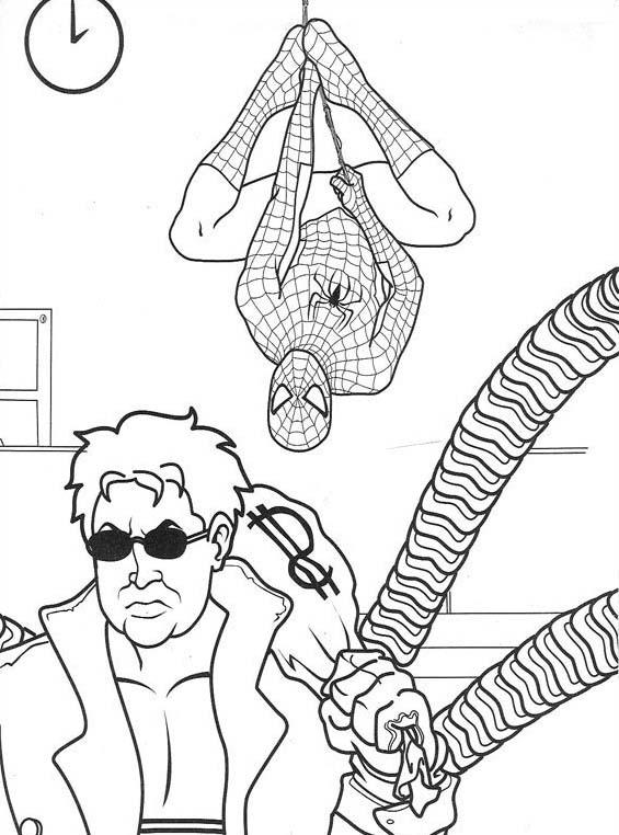 Spiderman da colorare 39