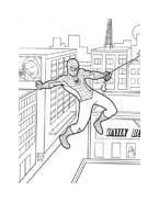 Spiderman da colorare 62