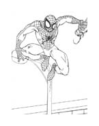 Spiderman da colorare 78
