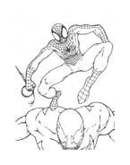 Spiderman da colorare 85