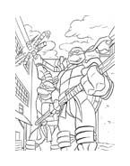 Tartarughe ninja da colorare 112