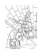 Tartarughe ninja da colorare 115