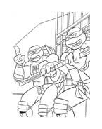 Tartarughe ninja da colorare 119