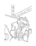 Tartarughe ninja da colorare 124