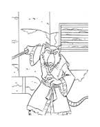 Tartarughe ninja da colorare 138