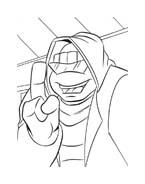 Tartarughe ninja da colorare 139