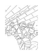 Tartarughe ninja da colorare 140