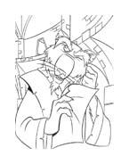Tartarughe ninja da colorare 144