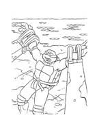 Tartarughe ninja da colorare 146