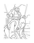 Tartarughe ninja da colorare 153