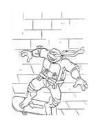Tartarughe ninja da colorare 160