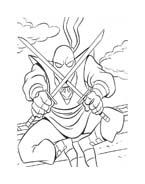 Tartarughe ninja da colorare 161