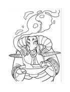 Kung fu panda da colorare 29
