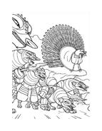 Kung fu panda da colorare 34