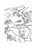 Kung fu panda da colorare 35