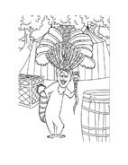 Madagascar da colorare 18
