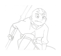 Avatar – La leggenda di Aang da colorare 3