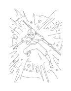 Avatar – La leggenda di Aang da colorare 5