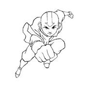 Avatar – La leggenda di Aang da colorare 7