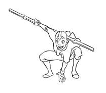 Avatar – La leggenda di Aang da colorare 8