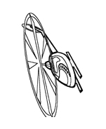 Elicottero da colorare 11