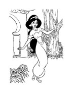 Aladdin da colorare 25