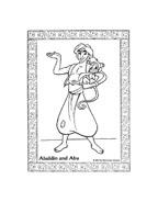 Aladdin da colorare 26