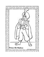 Aladdin da colorare 30