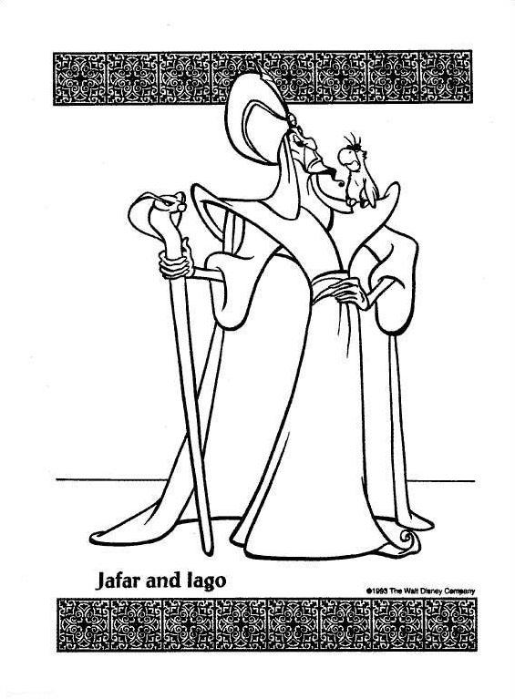 Aladdin da colorare 51